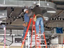 installation of ductwork